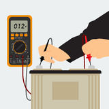 Charging the Battery vector illustration