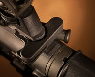 Charging handle Stock Photography