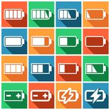 Charging icons Royalty Free Stock Photo