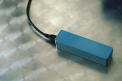 CHARGING PORTABLE BATTERY POWER BANK CHARGER Royalty Free Stock Image