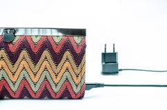 Charging purse Stock Photo