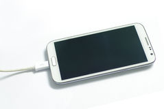 charging smart phone Royalty Free Stock Photo