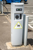 Charging Station for Electric Cars Royalty Free Stock Photos