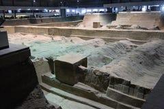 Chari antico delle Cine - città di Xian Fotografia Stock Libera da Diritti