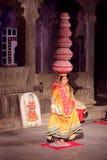 Chari Folk Dance von Rajasthan Lizenzfreies Stockbild