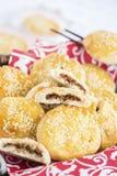 Chari Siu Pork Cookies Stock Photo