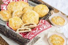 Chari Siu Pork Cookies Stock Photos