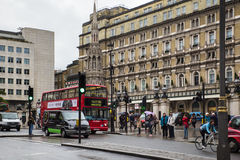 Charing διαγώνιο Λονδίνο στοκ εικόνα