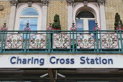 Charing Cross Station Royalty Free Stock Photo