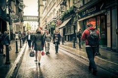 Charing kors London Fotografering för Bildbyråer