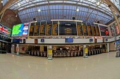 charing korsjärnvägstation Royaltyfria Bilder