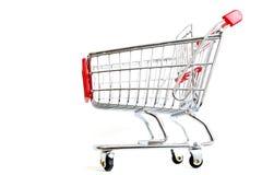 Chariot à achats Photographie stock libre de droits