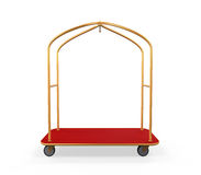 Chariot à bagages d'hôtel illustration stock