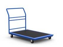 Chariot à entrepôt ou chariot à plate-forme Image stock