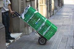 Chariot à la livraison Photos stock