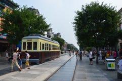 Chariot à Pékin Qianmen Image libre de droits