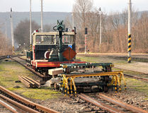 Chariot à rail Images libres de droits