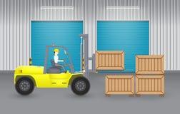 Chariot élévateur Image stock