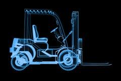 Chariot élévateur du rayon X Image libre de droits