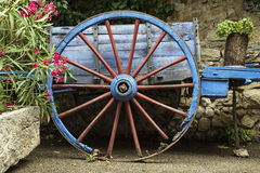 chariot старый Стоковое Изображение RF
