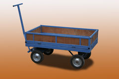 Chariot. Toy chariot used for deliveries in non traffic areas Stock Image