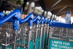 Chariot à bagage Images libres de droits