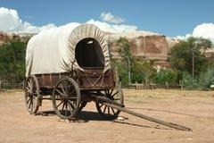 Chariot couvert Image libre de droits