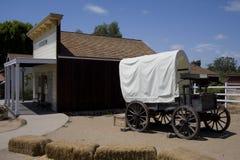 Chariot couvert - San Diego Image libre de droits