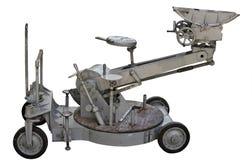 Chariot d'appareil-photo de film de cru d'isolement Image stock