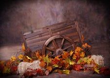 Chariot d'automne images libres de droits