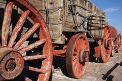 Chariot d'exploitation de borax, Death Valley photos libres de droits