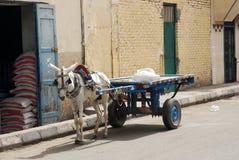 Chariot d'âne Photos libres de droits