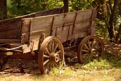 Chariot d'olde du YE Image libre de droits