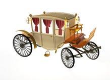 Chariot décoratif de vintage Photos stock