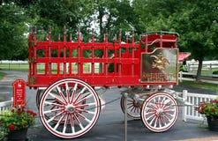 Chariot de bière d'Anheuser Busch Photo libre de droits
