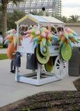Chariot de boutique de sucrerie Photographie stock libre de droits