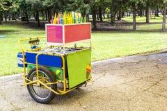 Chariot de crème glacée Photographie stock libre de droits
