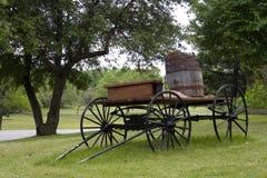 Chariot de cru Image libre de droits