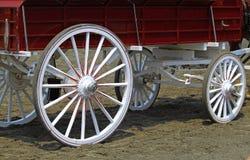 Chariot de ferme de vintage Image libre de droits