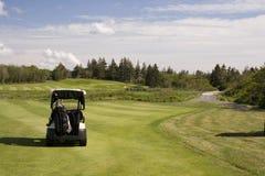 Chariot de golf Images libres de droits