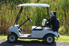 Chariot de golf Photographie stock