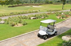 Chariot de golf Photo stock