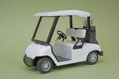 Chariot de golf de modèle d'échelle Images libres de droits