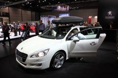Chariot de l'espace de commutateur de Peugeot 508 Photographie stock
