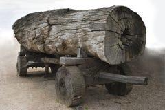 Chariot de logarithme naturel Photographie stock libre de droits