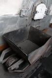 Chariot de main de charbon Image libre de droits