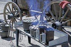 Chariot de mandrin 1 Images stock