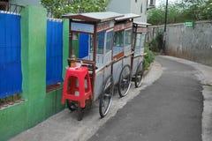 Chariot de marchand ambulant Photographie stock libre de droits