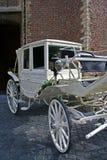 Chariot de mariage Image stock
