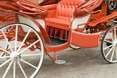 Chariot de mariage Photo libre de droits